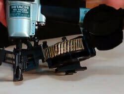 Hitachi NV45AB2 - Roofing Pneumatic Nailer