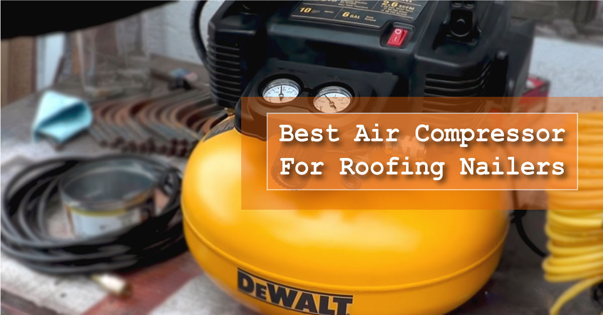 Air Compressor for roofing nailer